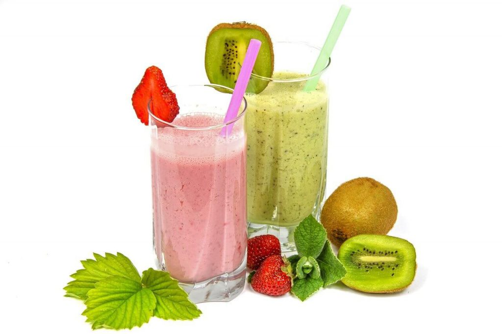 Fruit cocktail smoothies